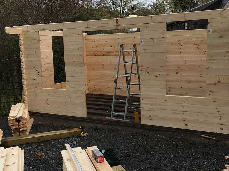 Shed and cabin assembly 8